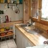 le banc fustier : Habillage cuisine en noyer clair