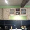 le banc fustier : Meuble cuisine en sapin massif