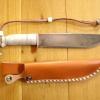Le banc fustier : Couteau de camp manche bois de renne