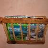le banc fustier : Réplique mangeoire porte revue pour wc