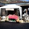Le banc fustier : Stand atelier du banc fustier à Belle Plagne le 4 aout 2010