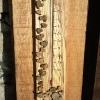 Le banc fustier : Thermomètre chêne et cœurs en noyer