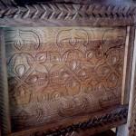 le banc fustier sculpture sur bois